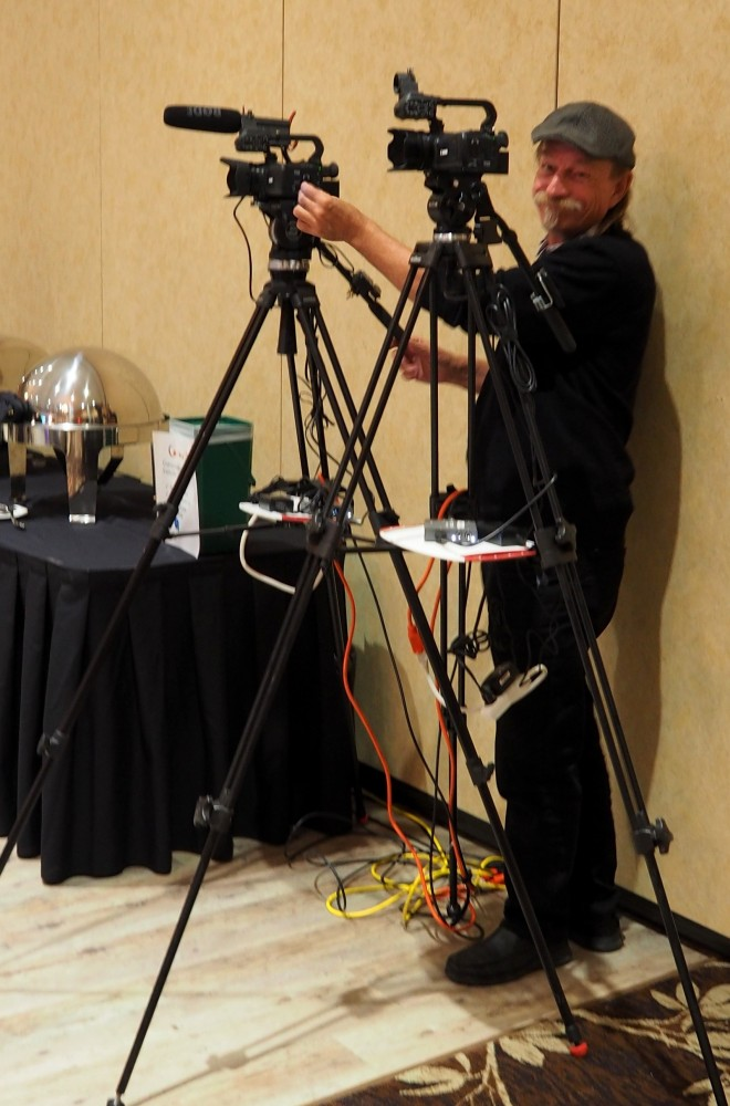 Dean and cameras