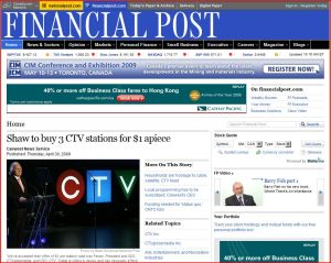 ctv-sells-to-shaw-3dollars